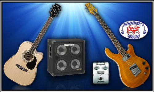 Guitars, Amps, Acoustic, Electric, Bass,